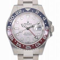 Rolex (ロレックス) ホワイトゴールド 自動巻き 40mm 新品 GMT マスター II