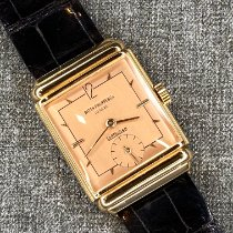 Patek Philippe Red gold Manual winding Gold Arabic numerals 25mm pre-owned Calatrava