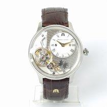Maurice Lacroix (モーリス・ラクロア) マスターピース グラビティー 新品 2021 自動巻き 正規のボックスと正規の書類付属の時計 MP6118-SS001