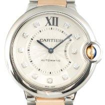 Cartier Ballon Bleu 36mm pre-owned 36mm Silver Gold/Steel