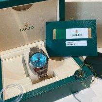 Rolex Milgauss Acciaio 40mm Blu Senza numeri Italia, Milano