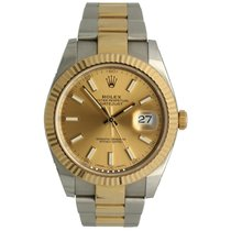 Rolex Gold/Steel 41mm Automatic 126333 pre-owned
