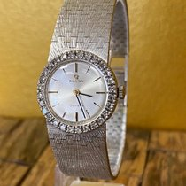 Omega Genève White gold 22mm Silver No numerals