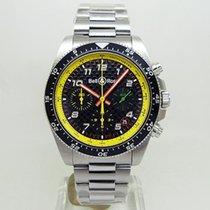 Bell & Ross BR V3 новые Автоподзавод Хронограф Часы с оригинальными документами и коробкой BRV394-RS19/SST