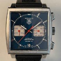 TAG Heuer Monaco Calibre 12 Steel 39mm Blue No numerals United States of America, California, Upland