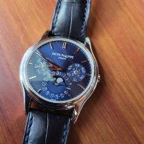 Patek Philippe Perpetual Calendar Platinum Blue No numerals