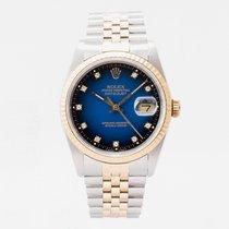 Rolex 16233 Gold/Steel 1988 Datejust 36mm pre-owned United Kingdom, Guildford,Surrey