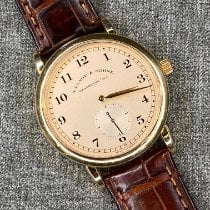A. Lange & Söhne Yellow gold 36mm Manual winding 206.021 pre-owned