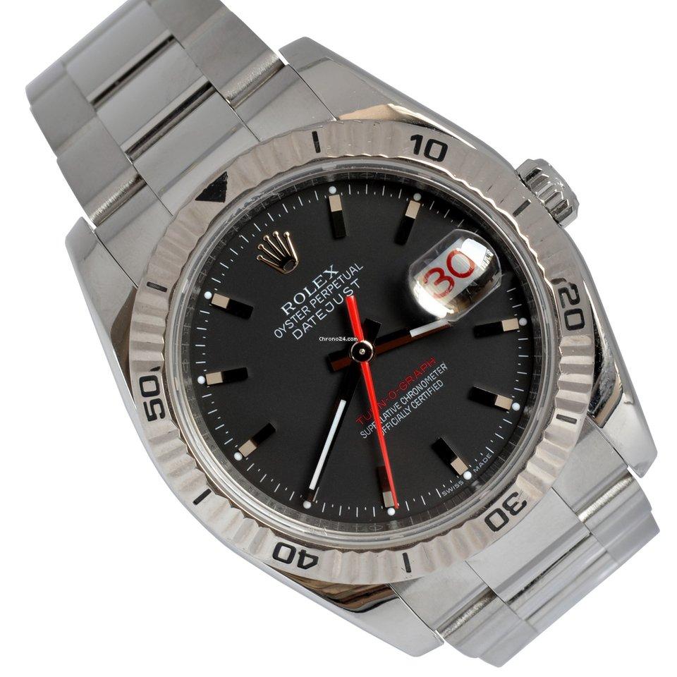 Rolex Datejust Turn-O-Graph 116264 2005 usato