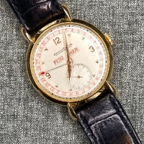 Jaeger-LeCoultre Rose gold Manual winding Champagne Arabic numerals 36mm pre-owned