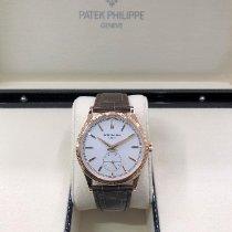 Patek Philippe Calatrava Rose gold 39mm Silver (solid) No numerals United States of America, Illinois, Springfield