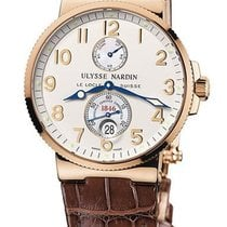 Ulysse Nardin Marine Chronometer 41mm Rose gold Champagne United States of America, Florida, North Miami Beach