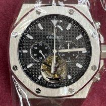 Audemars Piguet Royal Oak Tourbillon novo 2013 Corda manual Cronógrafo Relógio com caixa e documentos originais 25977st.oo.d002cr.01