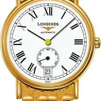 Longines Présence Yellow gold 34.5mm White Roman numerals United States of America, California, Moorpark