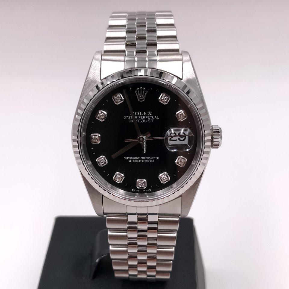 Rolex Datejust 16234G 2001 usato
