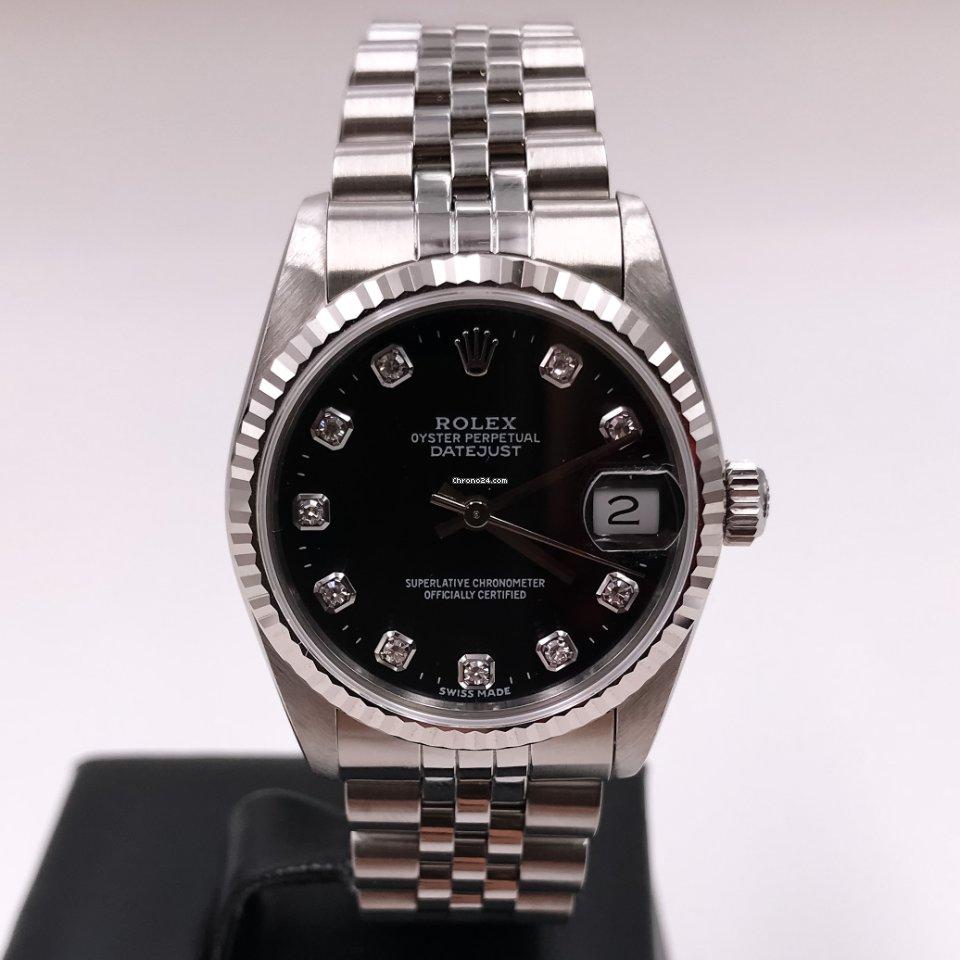 Rolex Datejust 31 68274G 1998 usato