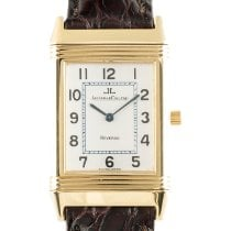 Jaeger-LeCoultre Reverso Classique Yellow gold 38.5mm Silver