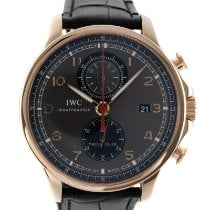 IWC Portuguese Yacht Club Chronograph IW390209 Very good Red gold 45.5mm Automatic