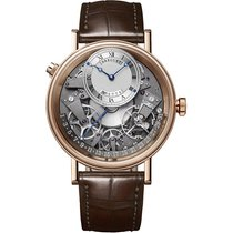 Breguet Rose gold Automatic Roman numerals 40mm new Tradition