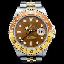 Rolex (ロレックス) GMT マスター II ゴールド/スチール 40mm