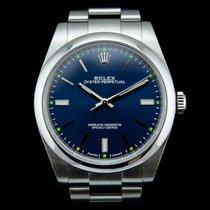 Rolex Oyster Perpetual 39 Steel 39mm Blue United Kingdom, London