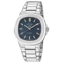 Gevril new Automatic 40mm Steel Sapphire crystal