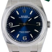 Rolex Oyster Perpetual 36 Steel 36mm Blue Arabic numerals United States of America, New York, Smithtown