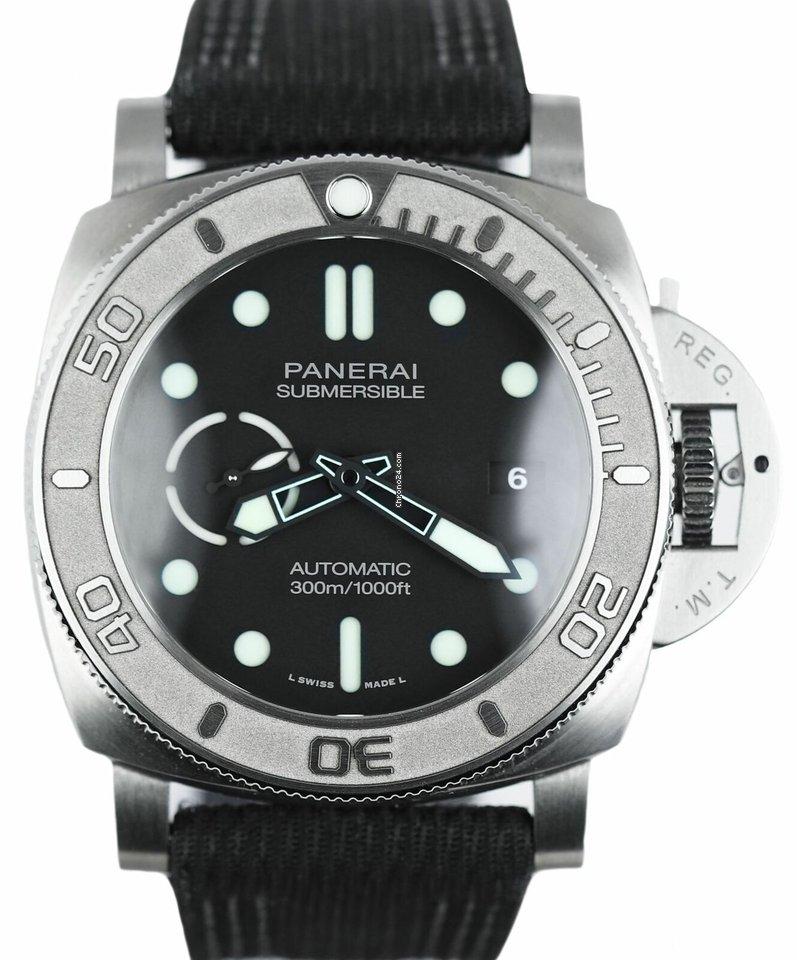 Panerai Luminor Submersible PAM0984 pre-owned