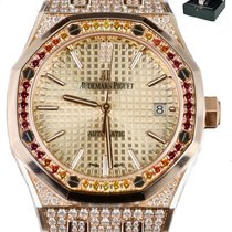 Audemars Piguet Royal Oak Lady Rose gold 37mm Champagne United States of America, New York, Smithtown