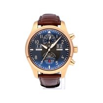 IWC Pilot Spitfire Perpetual Calendar Digital Date-Month Red gold 46mm Grey Arabic numerals