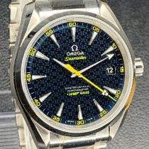Omega Seamaster Aqua Terra Otel Albastru Fara cifre