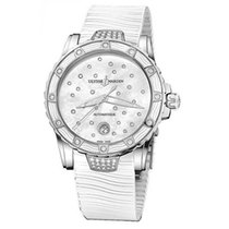 Ulysse Nardin Lady Diver Starry Night pre-owned 40mm Mother of pearl Date