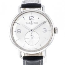 Bell & Ross Silver Manual winding Silver 40.5mm Vintage