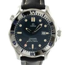 Omega Seamaster Diver 300 M Stahl 41mm Blau