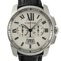 Cartier Calibre de Cartier Chronograph Steel 42mm Silver