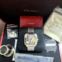 Cartier Santos (submodel) Steel 39.8mm Transparent Roman numerals United States of America, New Jersey, Woodbridge