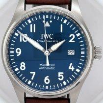 IWC Pilot Mark Steel 40mm Blue Arabic numerals United States of America, New York, New York