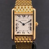 Cartier Tank Louis Cartier Yellow gold 21mm White Roman numerals