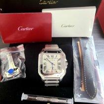 Cartier WSSA0018 Steel 2021 Santos (submodel) 39.8mm new United States of America, New Jersey, Woodbridge