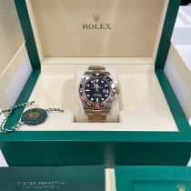 Rolex GMT-Master II Rose gold 40mm Black No numerals United Kingdom, London