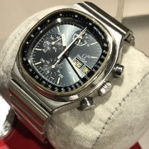 Omega Speedmaster tweedehands 39mm Chronograaf Datum Dagaanduiding Tachymeter Staal