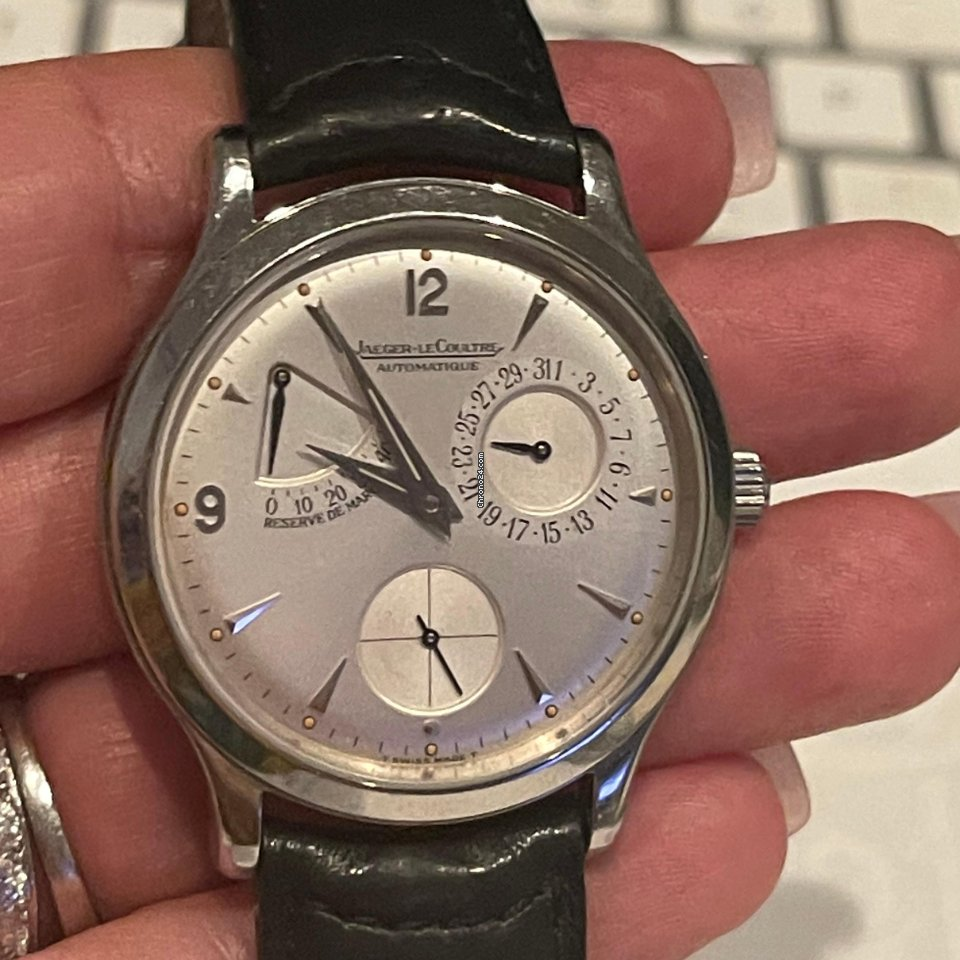 Jaeger-LeCoultre Master Control 140.8.93 1999 pre-owned