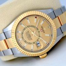 Rolex Sky-Dweller Gold/Steel 42mm Gold No numerals United Kingdom, Glasgow