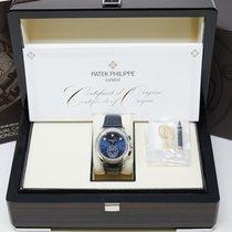 Patek Philippe Annual Calendar Chronograph Platinum 42mm Blue No numerals United States of America, California, Los Angeles