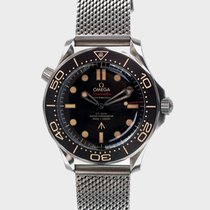 Omega Seamaster Diver 300 M Titanium 42mm Black No numerals Malaysia, Petaling Jaya