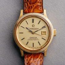Omega Constellation Gold/Steel 30mm Brown Australia, Toowong