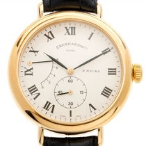 Eberhard & Co. 8 Jours Yellow gold 39mm White Roman numerals