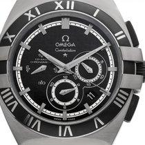 Omega Constellation Double Eagle Steel 42mm Black