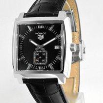 TAG Heuer Monaco Lady Acero 37mm Negro