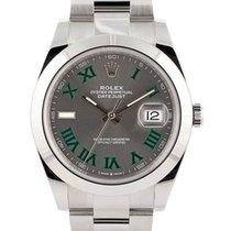 Rolex 126300 Acciaio 2021 Datejust 41mm nuovo Italia, BRESCIA
